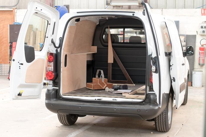 Aménagement et création de véhicules utilitaires